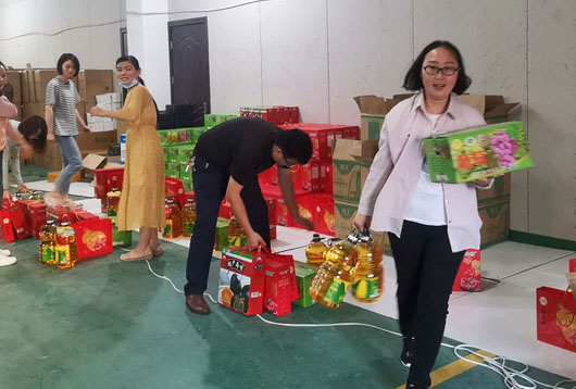 Hightop Machinery Group Distributes Mid-Autumn Festival Welfare Gifts to Employees