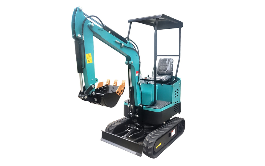 HT10 small excavator sent to the UK