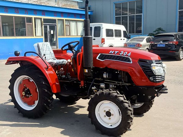 Haituo tractor sent to Russia